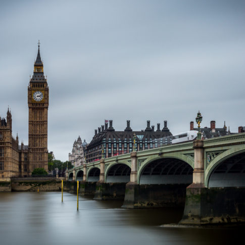 London, Westminster Bridge, Bridge, Water, Thames, River, Cloud, Big Ben, Bus,